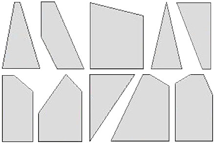 Wood Polygon Shapes Cut to Size