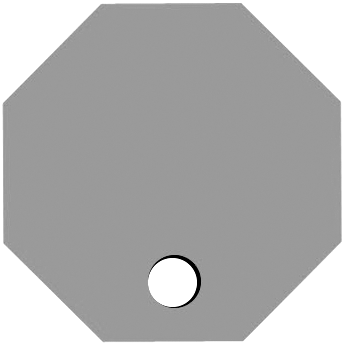 Bottom Octagon Hole