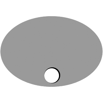 Bottom Oval Hole