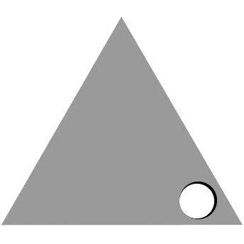 Right Triangle Hole
