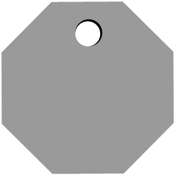 Top Octagon Hole
