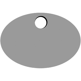 Top Oval Hole
